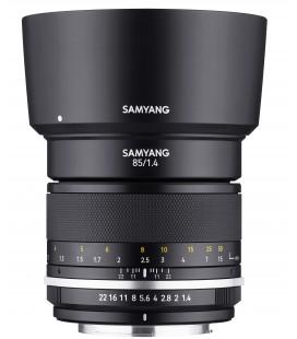 SAMYANG 85 MM F /1.4 MF MK2 CANON EF