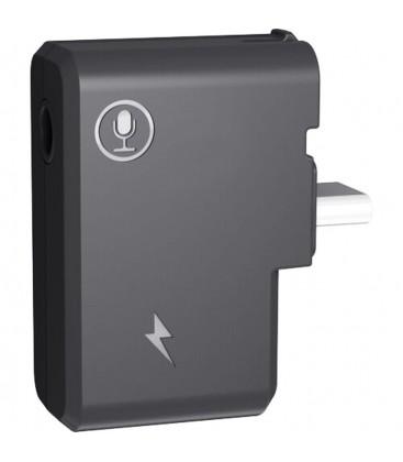 INSTA360 ADAPTADOR DE MICROFONO USB-C DUAL DE 3.5MM PARA ONE X 2
