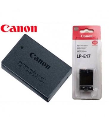 CANON BATTERY ORIGINAL LP E17 VON CANON