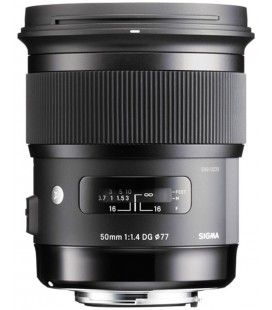 SIGMA OBJECTIVE 50MM F/1.4 DG HSM ART FOR CANON