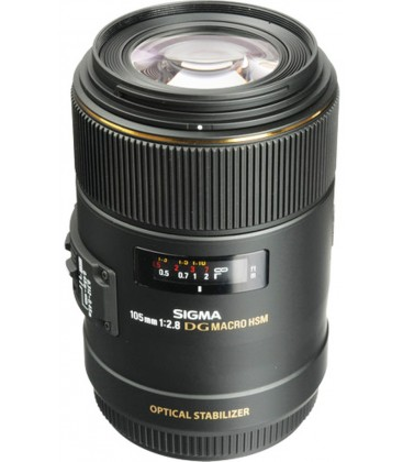 SIGMA 105MM F/2.8 EX DG OS HSM MACRO POUR CANON