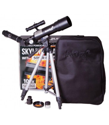 LEVENHUK TELESCOPE SKYLINE TRAVEL SUN 50