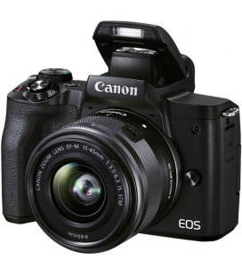 CANON EOS M50 MKII + EF-M 15-45/3.5-6.3  IS STM NEGRO