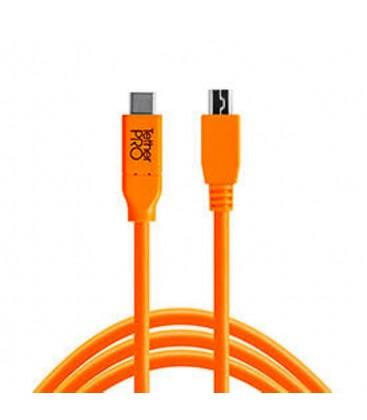 TETHERPO USB-C A 2.0 MINI 5-PIN - 4.6M