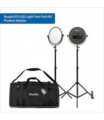 PHOTTIX NUADA R3 II KIT TWIN LEDS