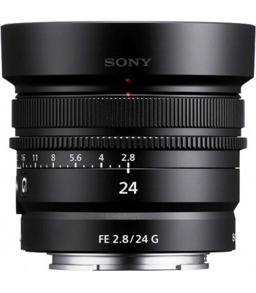 SONY 24mm F2.8G  Prime Lens (SEL24F28G.SYX)