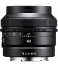 SONY 40MM F2.5G PRIME LENS (SEL40F25G.SYX)