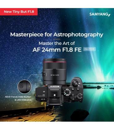 SAMYANG AF 24MM F1.8 FE  ESPECIAL ASTROFOTOGRAFÍA