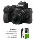 NIKON Z50 + 16-50mm VR F3.5-6.3 + Kit: SDXC 64GB X1000 + TRIPODE + 5 COURS