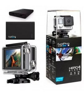 GOPRO HERO 4 ADVENTURE NEGRA+ POWERBANK (INCLUYE BATERÍA PORTÁTIL GOPRO POWER PACK)