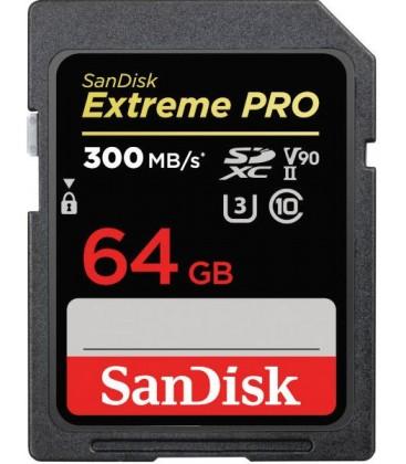 SANDISK EXTREME PRO SDHC 64GB 300MB/S V90