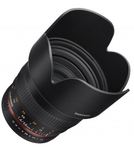 SAMYANG 50MM f/1.4 AS UMC AE FOR CANON WITH CHIP