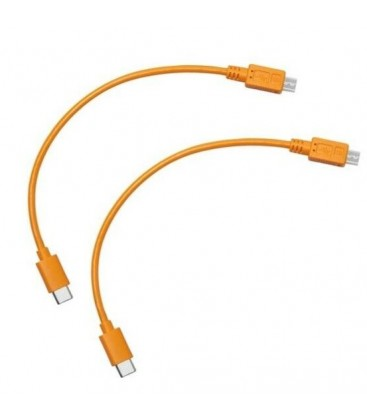 TETHER CABLE AIR DIRECT USB-C A USB 2.0 MICRO-B 5PIN 2PK - REF. ADC-2MB