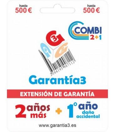 GARANTÍA3 COMBI HASTA 500 EUROS