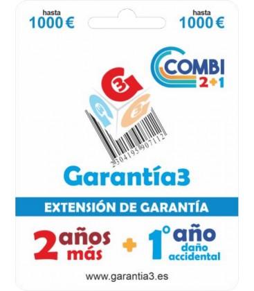 GARANTÍA3 COMBI HASTA 1000 EUROS