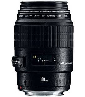 CANON EF 100mm f/2.8 MACRO USM + FREE 1 AN VIP MAINTENANCE SERPLUS CANON