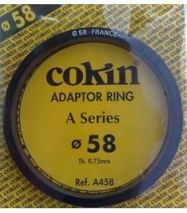 COKIN ANILLA ADAPTADOR SERIE A DE 58 MM.