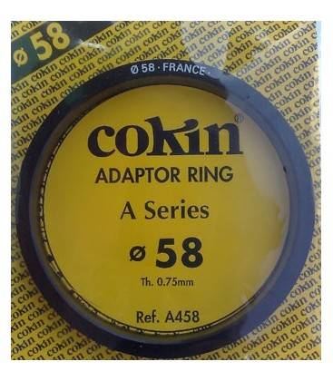 COKIN RING ADAPTER SERIES TO 58 MM.