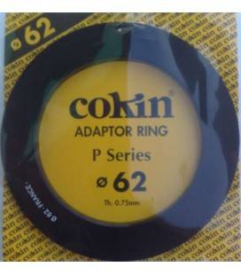 COKIN RING ADAPTER P SERIE 62 MM.