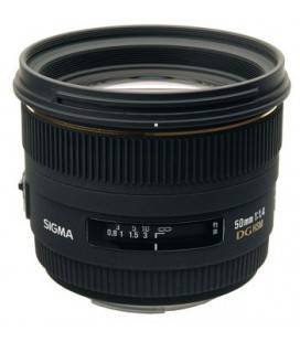 SIGMA 50 mm F1.4 EX DG HSM FOR NIKON