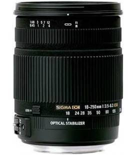 SIGMA 18-250 mm f/3,5-6,3 DC OS HSM MACRO POUR CANON