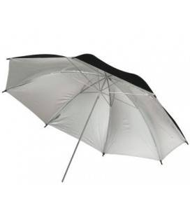 PHOTTIX REFLECTOR UMBRELLA WHITE/BLACK 91CM