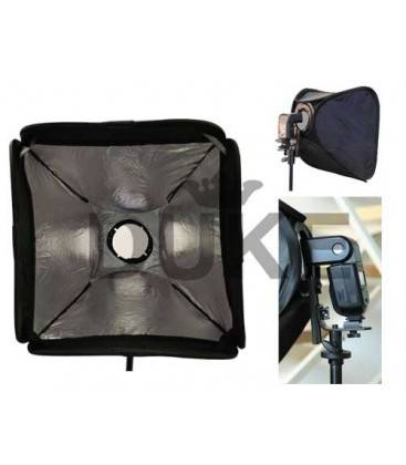 PHOTTIX SOFTBOX 60X60 WITH SUPPORT KIT