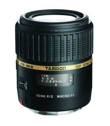 TAMRON SP AF60mm F/2.0 Di II LD [IF] MACRO 1:1 FOR CANON