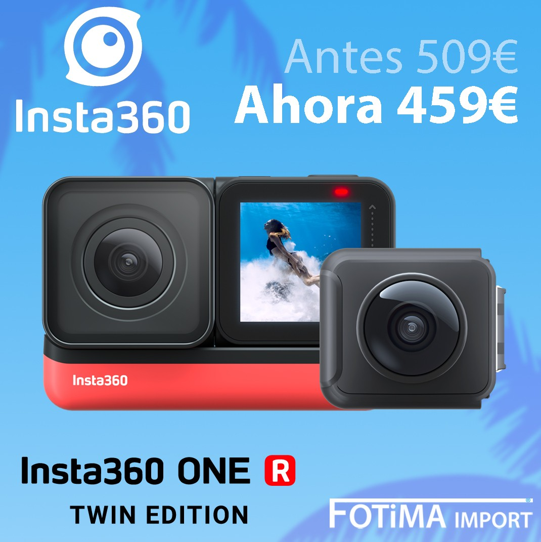 INSTA 360 ONE R TWIN DESCUENTO 50€