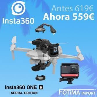 INSTA 360 AERIAL EDICION DESCUENTO 60€