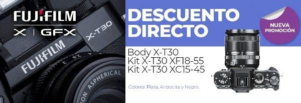 X-T30 DESCUENTO DIRECTO