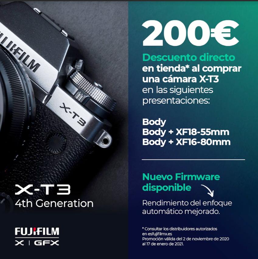 X-T3 200€ CASHBACK