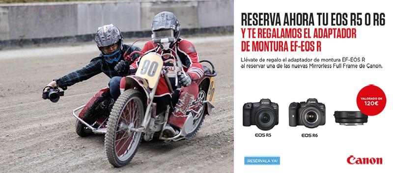 EOS R5 R6 REGALO ADAPTADOR RF €120