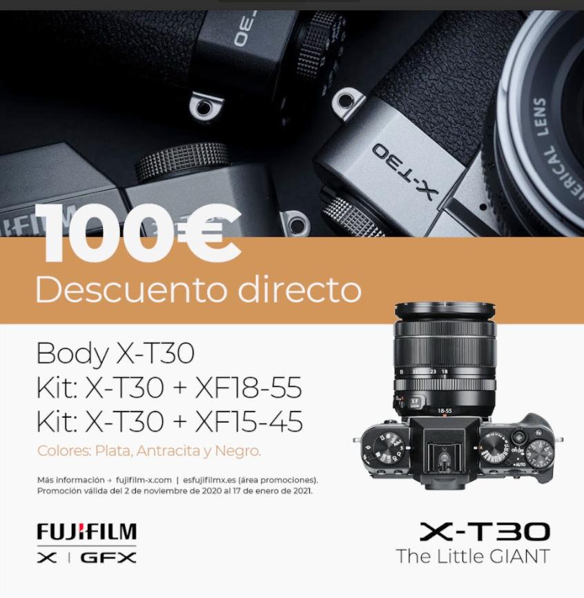 X-T30 DSCUENTO DIRECTO