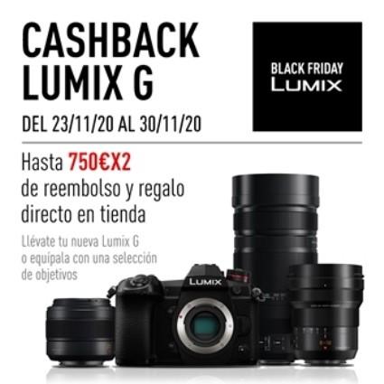 LUMIX DOBLE CASH BACK BLACK FRIDAY SLO