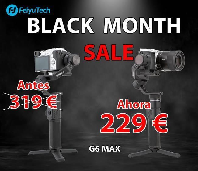 FEIYUTECH BLACK FRIDAY G6 MAX