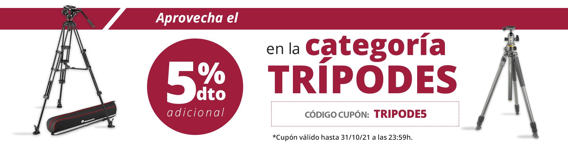 PROMO 5% DESCUENTO ADICIONAL TRIPODES