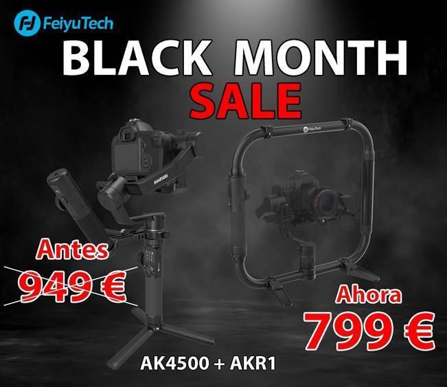 FEIYUTECH BLACK FRIDAY AK4500 + AKR1