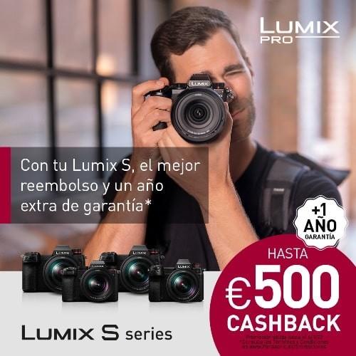 PANASONIC PROMO S1 HASTA 500 EUROS