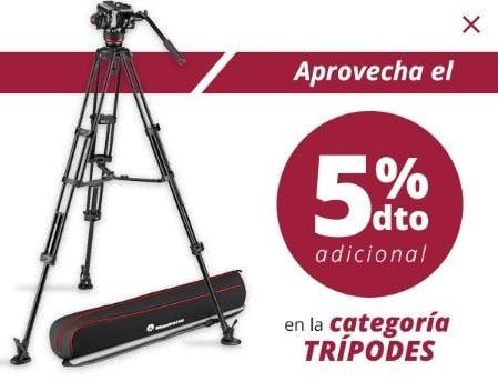 TRIPODES 5% PROMO